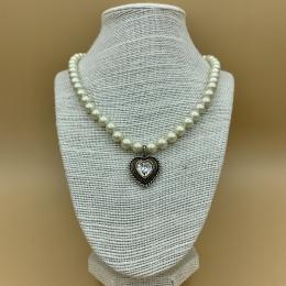 """Perlenkette """"Sophie"""" mit Swarovski®-Kristall"""
